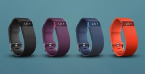 Fitbit charge HR の色ラインナップ