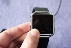 Fitbit Blazeの取り外し方法