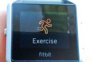 Fitbit Blazeエクササイズ
