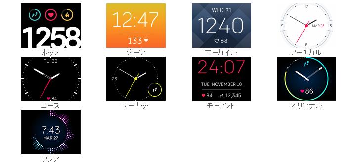 時計ディスプレイ