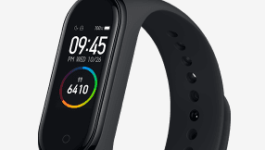 やっぱりFitbitのライバル!Mi Smart Band 4が発売されたよ